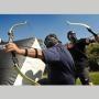Archery Tag Close-Up