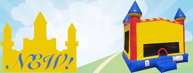 CASTLE – BOUNCE HOUSE added to inventory