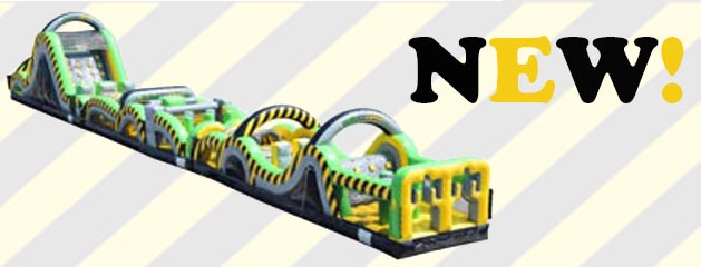 THE CAUTION COURSE INFLATABLE OBSTACLE COURSE added to inventory