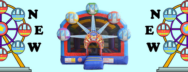 FERRIS WHEEL – BOUNCE HOUSE added to inventory