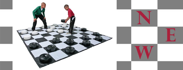 GIANT CHECKERS added to inventory!