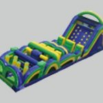 Radical Run Inflatable Obstacle Course - 65'