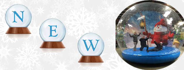 SNOW GLOBE – GIANT INFLATABLE added to inventory