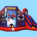 Spiderman 3 in 1 Inflatable Combo