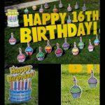 Yard Card - Birthday Cupcakes