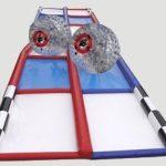 Human Hamster Ball Race