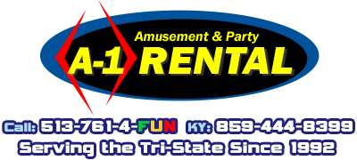 Cincinnati A-1 Amusement Party Rentals Inflatables Bouncehouse Games | Ohio Kentucky