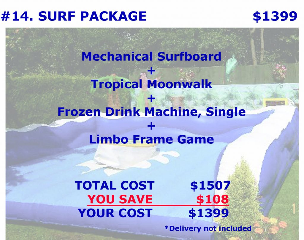 Mechanical Surf Board Margarita Machine Rental Cincinnati Ohio