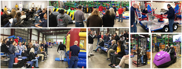 2019 Carnival Ride Inflatables and Party Rental Training