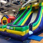 Accelerator - Dual Lane Inflatable Dry Slide Rental Cincinnati Ohio