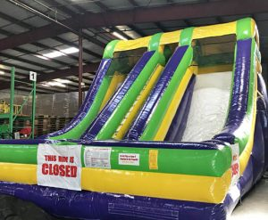 Accelerator - Dual Lane Inflatable Dry Slide Rental Cincinnati Ohio