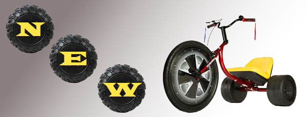 ADULT BIG WHEEL (SET OF 2) added to inventory!