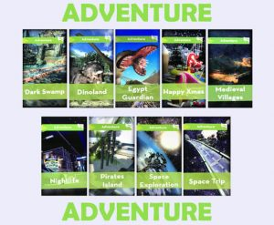 Adventure (VR) Virtual Roller Coaster Simulator Rental cincinnati ohio
