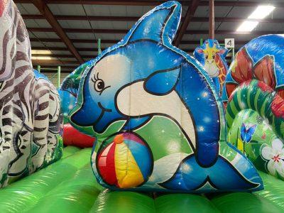 Animal Kingdom Inflatable Preschool Playland - Cincinnati, Ohio
