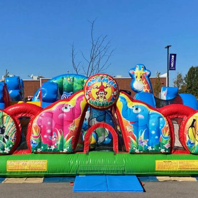 Animal Kingdom Inflatable Preschool Playland - Cincinnati, Ohio