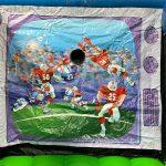 Mechanical Armchair Quarterback Football Game Rental Cincinnati Ohio