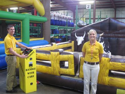 Trained Staff Attendant Operator Supervisor for Event