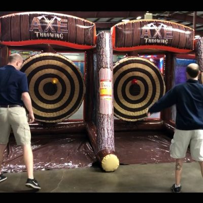 Axe Throw Inflatable Rental - Double - Cincinnati, Ohio