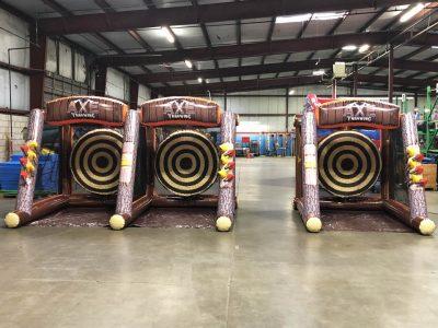 Axe throw Inflatable Cincinnati Party Rental