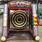 Axe throw Inflatable Cincinnati Party Rental