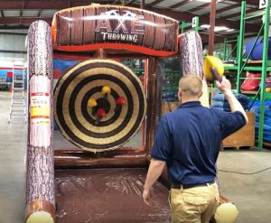 Axe Throw Inflatable Rental - Single - Cincinnati, Ohio