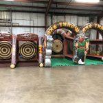 Axe Throwing Inflatable Rental - Viking - Cincinnati, Ohio