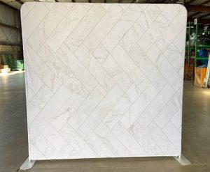 Marble Brick Tile Back Drop Rental for Photo Booth_Trade Show_Convention_Prom_After Prom_Cincinnati Ohio