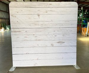 Whitewash Wood Back Drop Rental for Photo Booth_Trade Show_Convention_Prom_After Prom_Cincinnati Ohio