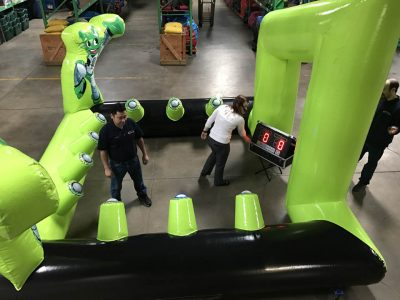 Battle Light Challenge Interactive Light Game Rental Cincinnati Ohio