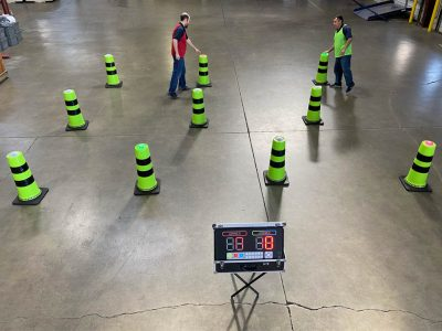 Battle Light Cones Game Rental Cincinnati Ohio