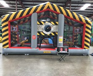 Battlezone Inflatable Cannonball Air Blaster with Interactive Light Kit Rental Cincinnati Ohio