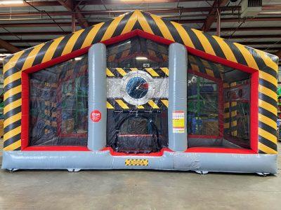 Battlezone Inflatable Cannonball Air Blaster Rental Cincinnati Ohio