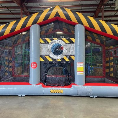 Battlezone Inflatable Cannonball Air Blaster Rental Cincinnati Ohio