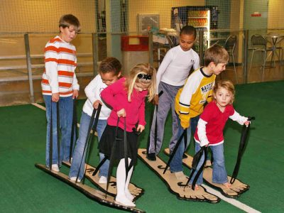 Big Foot Children's teamwork race game rental Cincinnati Ohio