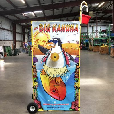 Big Kahuna Reverse Dunk Tank Bucket Dump Water Game Rental Cincinnati Ohio