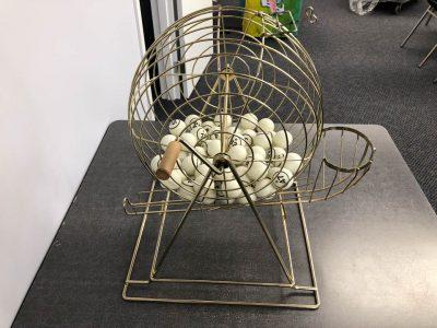Bingo game with balls and board rental cincinnati