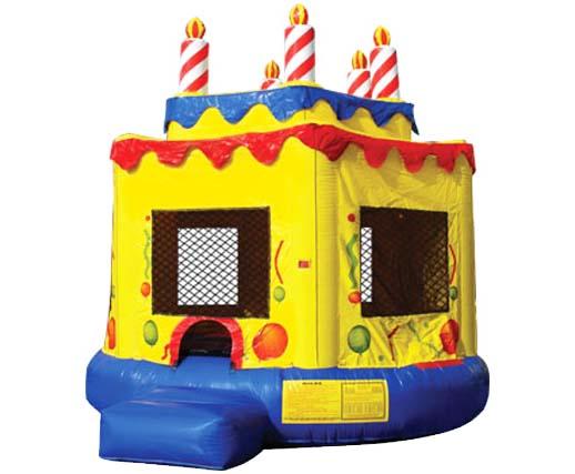 Awe Inspiring Birthday Cake Inflatable Bounce House Rental Cincinnati A 1 Personalised Birthday Cards Veneteletsinfo