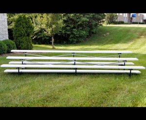 portable 3 row bleacher rental Cincinnati, Ohio