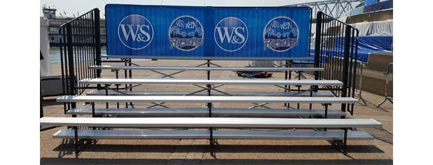 PORTABLE BLEACHERS added to inventory!