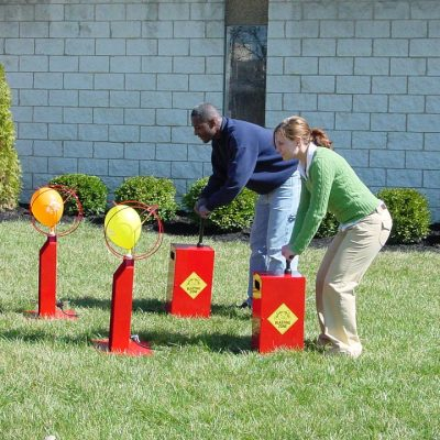Boom Blaster Balloon Popping Race Game Rental Cincinnati Ohio