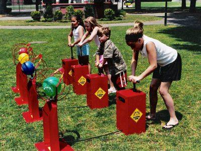 Boom Blaster Balloon Popping Race Game Rental Cincinnati Ohio