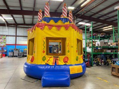 Birthday Cake Inflatable Bounce House Rental Cincinnati Ohio