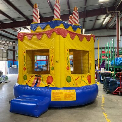 Birthday Cake Inflatable Bounce House Rental Cincinnati Ohio