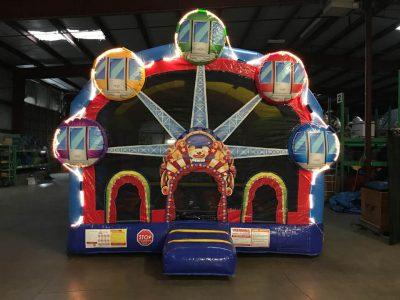 Light Up Ferris Wheel Carnival Bounce House Inflatable Rental Cincinnati Ohio