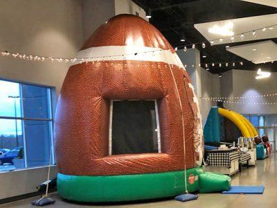 Football Sports Inflatable Bounce House Rental Cincinnati Ohio