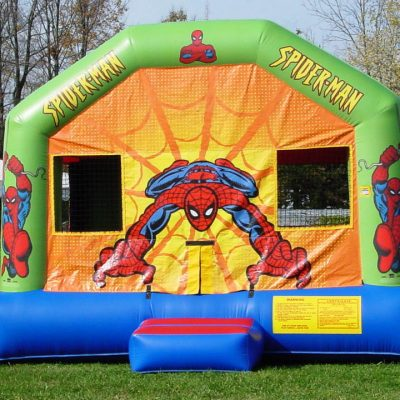 Spiderman Marvel Inflatable Bounce House Rental Cincinnati Ohio