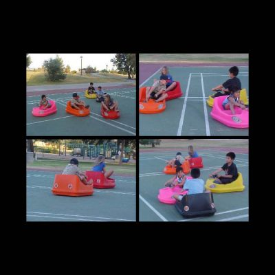 portable Kiddie bumper cars rental cincinnati ohio