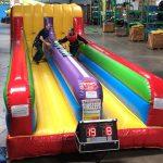 2 player Bungee Run inflatable with Interactive Light Score Keeper Rental Cincinnati Ohio