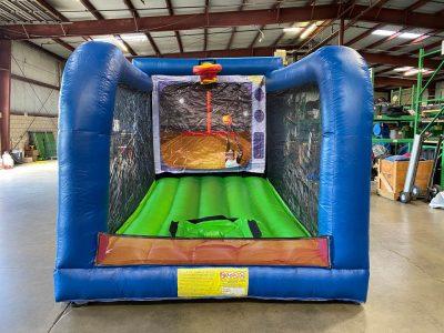 Inflatable mechanical basketball game - cincinnati, ohio