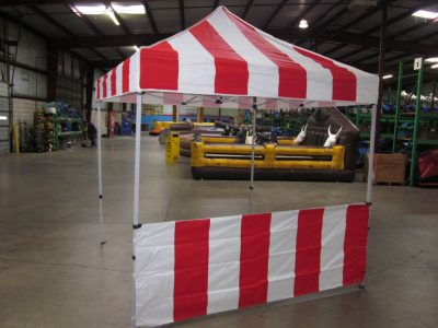 Carnival Booth Pop-up Tent for Tickets Games Concessions Rental Cincinnati Ohio
